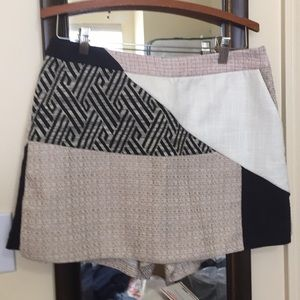 NWT Anthropologie tweed skort size 6.